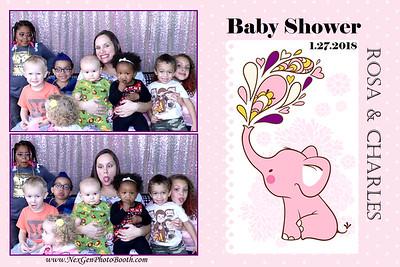 Rosa & Charles' Baby Shower 1/27/18