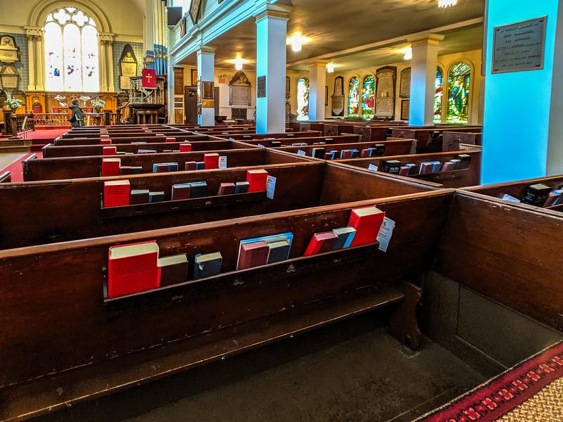 A very active local church.