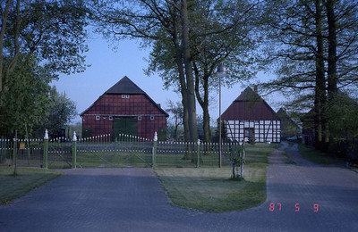 Two beautifully restored and converted barns, part of a renewed former farm village.  Some of the restored barns serve as a second, or vacation home to German citizens perhaps from other areas of the country.