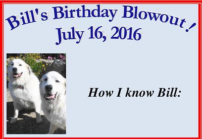 2016 July 16 - Bill Betchart Birthday