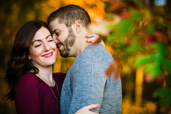 Katelyn + David | Engagement Photos | Peace Valley Park, Doylestown PA