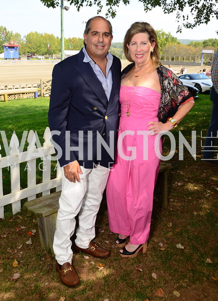 Stuart and Daphne Himmelfarb, NVTRP Ride to Thrive Polo Classic, Great Meadow, Sep 28, 2019, photo by Nancy Milburn Kleck