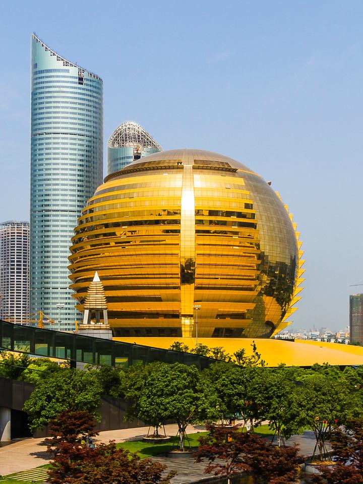 杭州古城,现代与传统