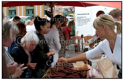 Italiensk marked ved Thorvaldsens Museum. 2004