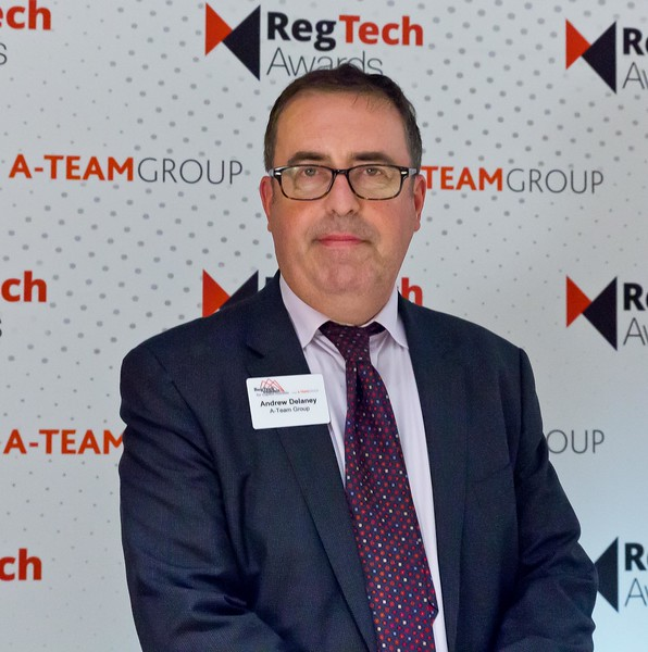 Andrew Delaney, A-Team Group at the RegTech Summit for Capital Markets, NYC, November 16 2017.