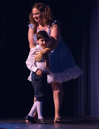 04/21/18 Wesley Bunnell | Staff The Older Members Association of the Boys and Girls Club of Bristol Family Center held their 77th annual OM Show on Saturday April 21 at St. Paul Catholic High School. The show was Disney themed and titled Wish Upon a Star. A scene from Beauty and the Beast.