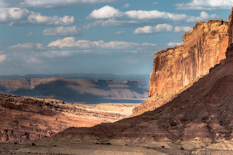 Utah canyons and clouds #2