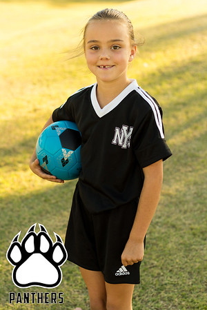 Panthers Soccer Portraits