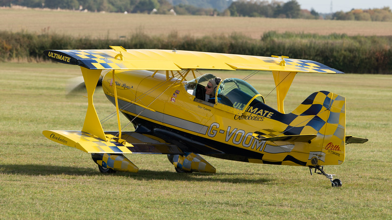 Shuttleworth, Aircraft-> Pitts-> S-1 Ultimate-> G-VOOM, Old Warden-> Race Day 2018, Old Warden-> Arrival - 07/10/2018@10:24