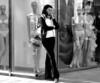 Woman with mannequins.   Vienna, Austria -2004