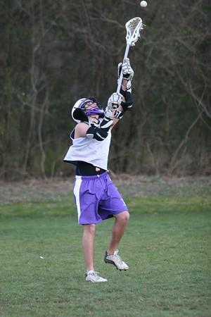 Darlington Lacrosse Practice 2-10-05