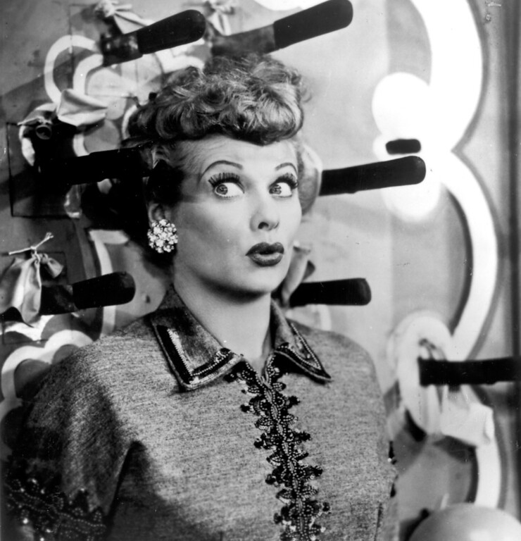 . Lucille Ball.   Los Angeles Daily News file photo