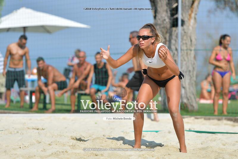 presso Zocco Beach PERUGIA , 25 agosto 2018 - Foto di Michele Benda per VolleyFoto [Riferimento file: 2018-08-25/ND5_8480]