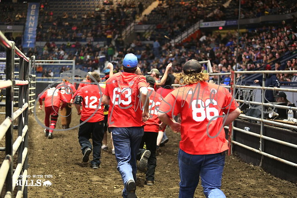 Agribition Running with the Bulls - 2016