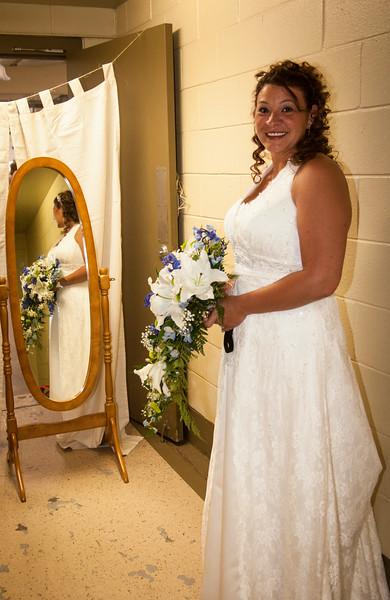 Aubrey's wedding