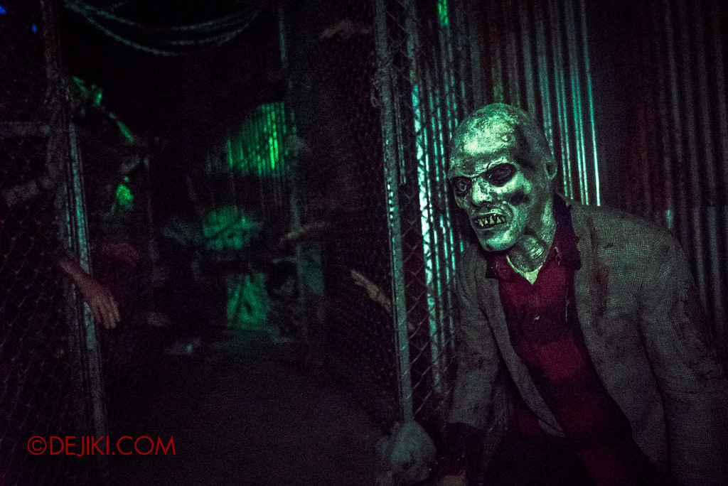 Halloween Horror Nights 7 - HEX haunted house / Zombie and undead