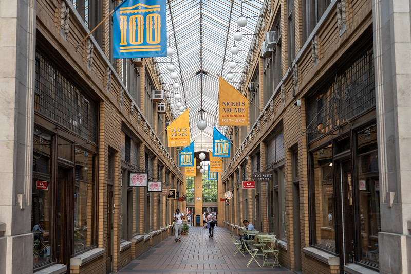 Nickels Arcade in Ann Arbor, Michigan
