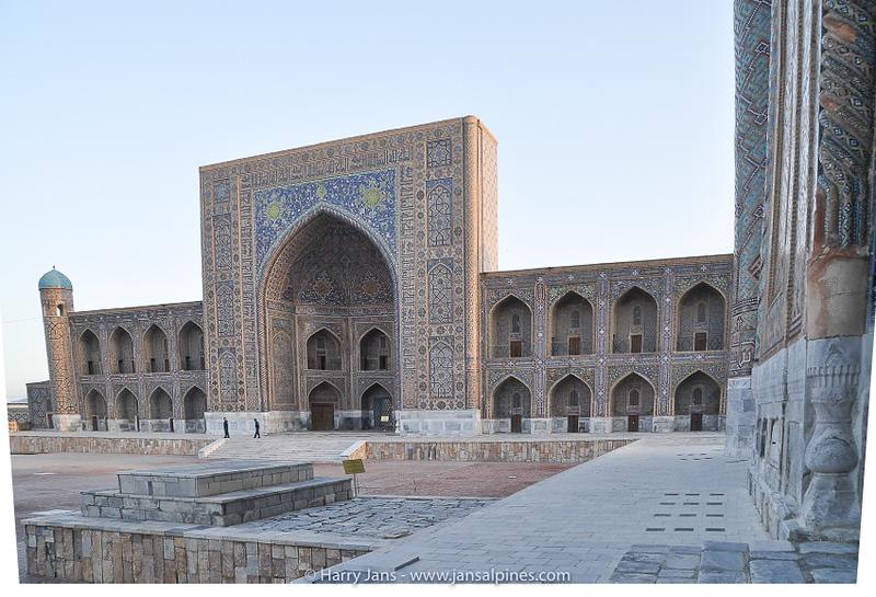 Registan: Tilya Kori Madrasah (1646-1660)