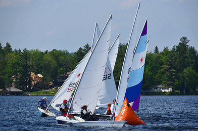 Lake Sunapee Laser Regatta 6-1-13