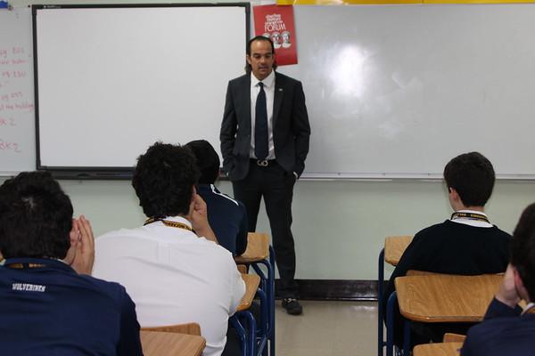 Ignatian Week Alumni Visits