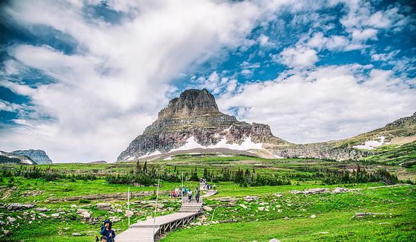Glacier National Park Camping Trip, Jul 2019