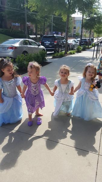 Cinderella Princess Party - 4.26.15 - Little House of Art