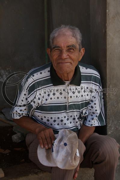 """Of course you may take my photo. Just let me fix my hair""  Concepcion de Ataco, Ahuachapan, El Salvador."
