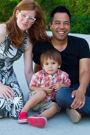 Nik, Melissa and Kieran