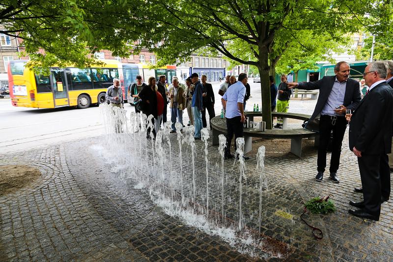 Indvielse af springvand