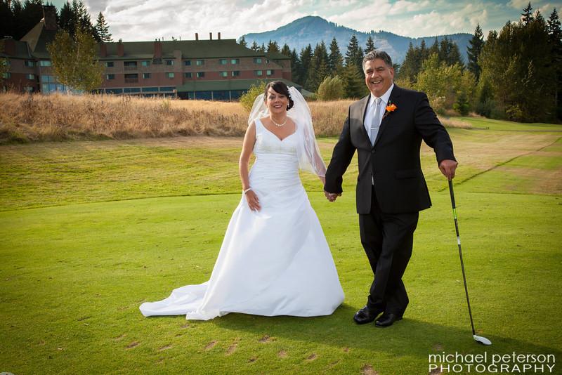 Kelley and Fred Wedding
