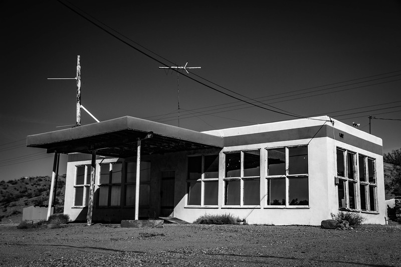 Desert Gas Station 2