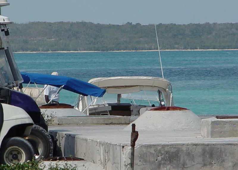"""""""Water Taxi"""" from Eleuthera"""