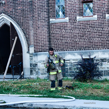 August 11, 2020 - Working Fire - Whychwood Ave & St Clair Ave W.
