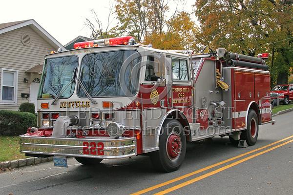 Denville & Rockaway,NJ Apparatus - Nov. 2006