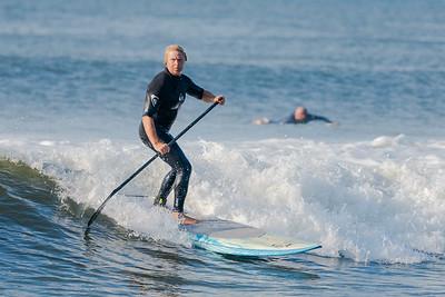 Alex SUPing Long Beach 9-30-18