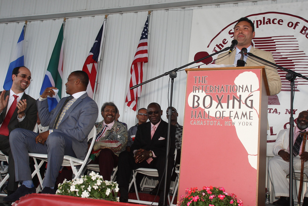 . 25th annual International Boxing Hall of Fame induction ceremony on Sunday, June 8, 2014 in Canastota.