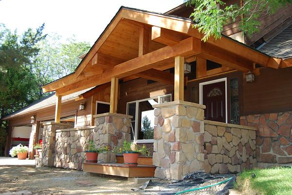 Porch Construction 2007-2008