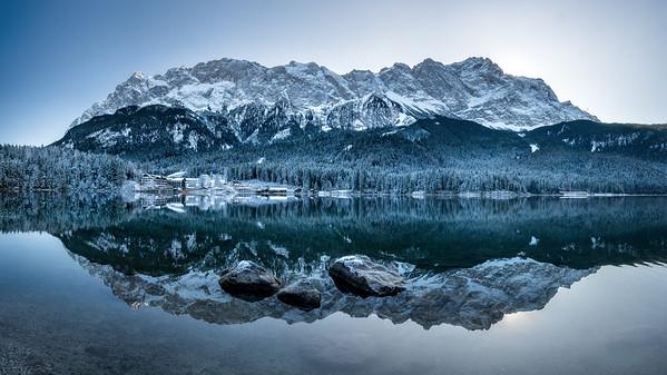 Alps winter