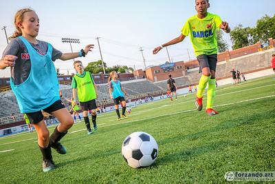 2019-07-09 Flint City Bucks Kids' Soccer Workout