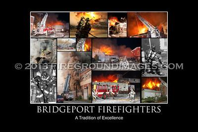 Bridgeport Fire Poster Prints