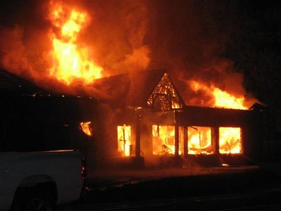MINERSVILLE STRUCTURE FIRE 7-18-08 PICTURES BY Keith Yerusavage