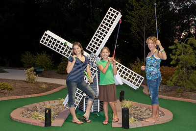 Youth Group Mini Golf