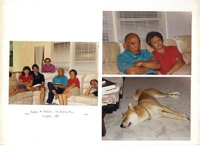 9-18-1988 Bob & Bea Kikawa @ Kam's