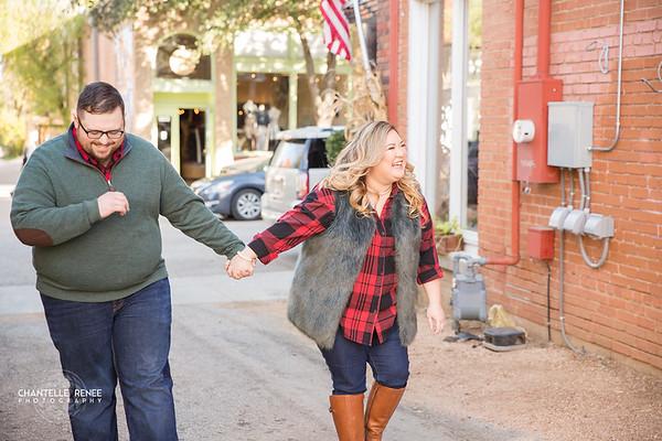 Tina and Brandon Engagements - Social
