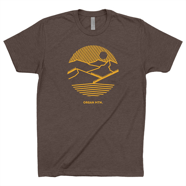 Organ Mountain Outfitters - Outdoor Apparel - Mens T-Shirt - Get Out There Tee - Espresso.jpg