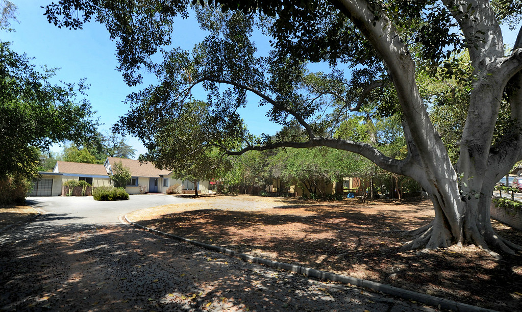 . A property in the 500 block of Meridian Avenue in South Pasadena is one of 53 properties owned by Caltrans have gone back on the market after years of being state-owned rentals. The properties were once reserved to be demolished for the possible 710 freeway extension, but Caltrans now says they are outside the footprint of the five remaining options being studied by the agency to complete the freeway. Caltrans was also prompted to sell the homes by a state law passed last year.(Photo by Walt Mancini/Pasadena Star-News)