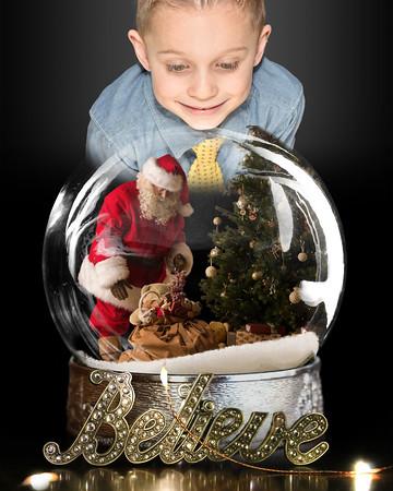 2018 - Declan 6 year / Christmas Photos