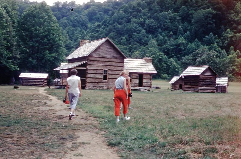 1954 - Old Homestead in Smokies.jpg