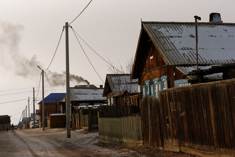 Kuzhir - winter life in a Wild East Siberian village
