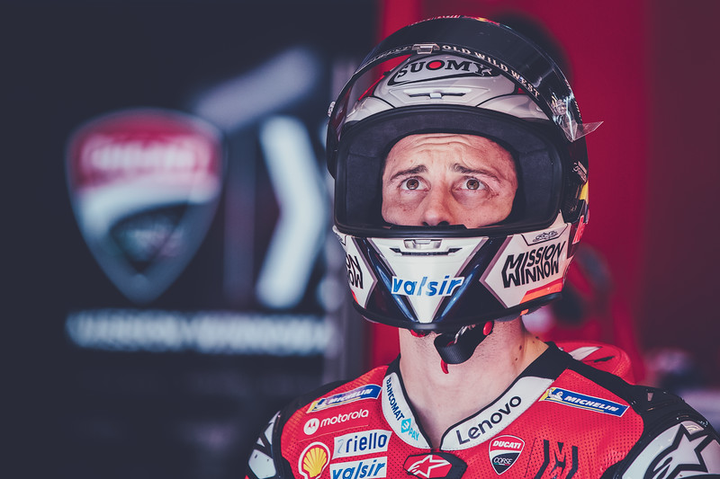 Andrea Dovizioso at the 2020 Qatar MotoGP test - Photo by Rob Gray, Polarity Photo